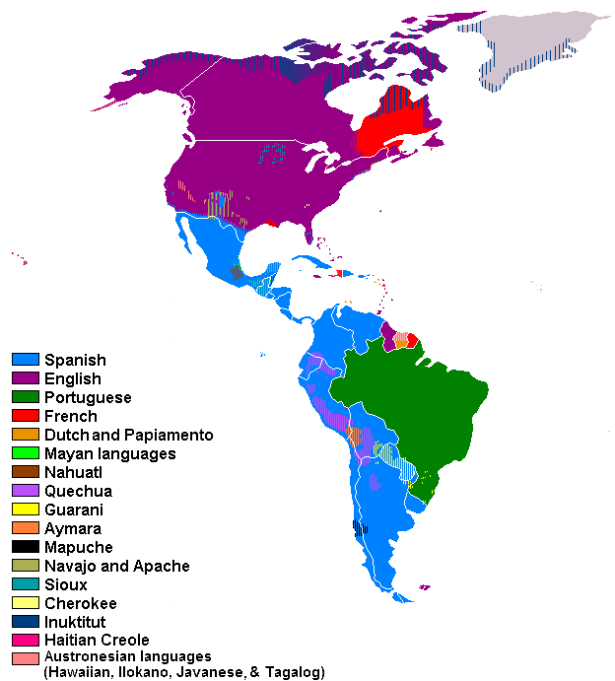Languages_of_the_American_Continent