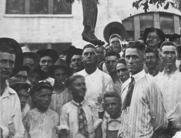 The Lynching of Lige Daniels. 3 August 1920, Center, Texas. Without Santuary, plate 54