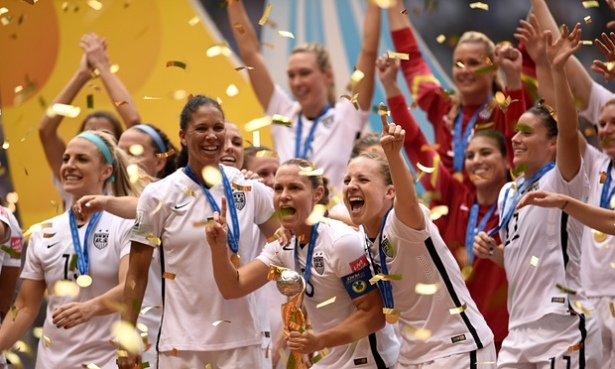 U.S.A. Women Win World Cup 2015